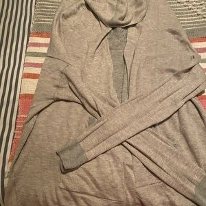 Hooded lululemon cardigan